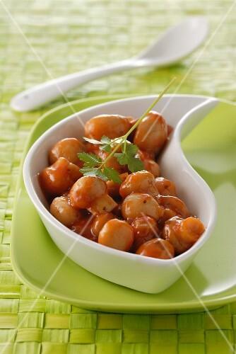 Mushrooms à la grecque