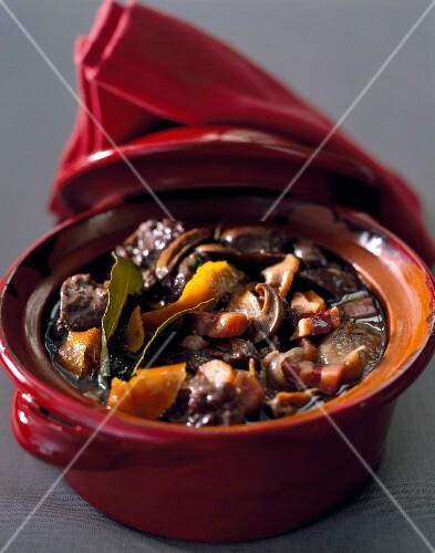 Beef and orange stew