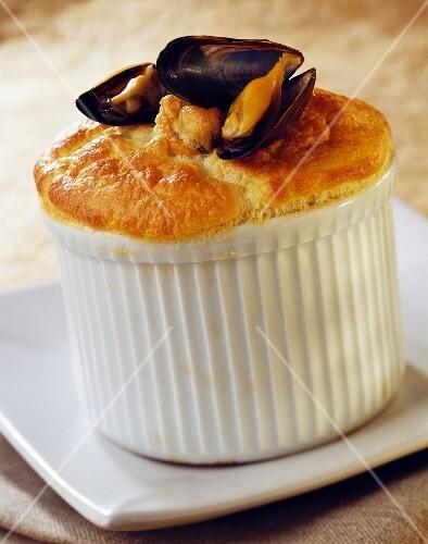 Mussel souffle