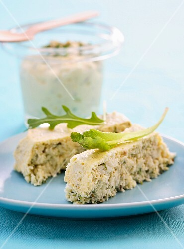 Fish terrine with Gribiche sauce