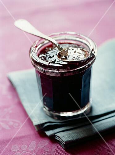 Grape and Pinot Noir jam