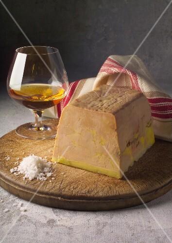 Foie gras and Cognac terrine