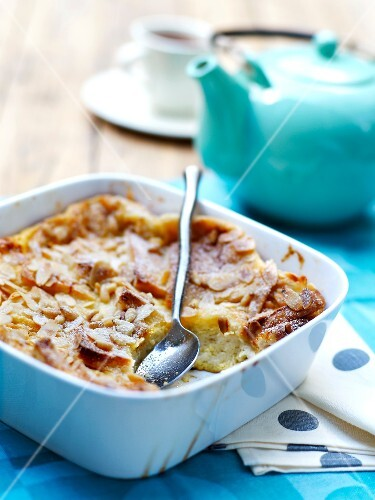 Apple and almond Clafoutis