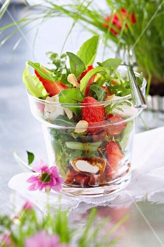 Three-colored salad
