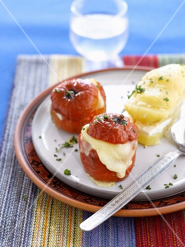 """""""Rocoto relleno;peppers stuffed with cheese"""""""