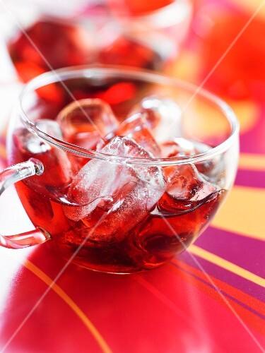 Sour griotte cherry liqueur -flavored tea