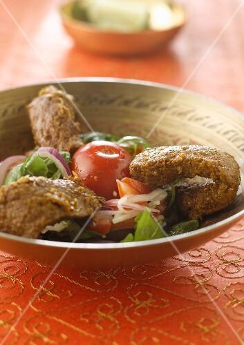 Bhira salad