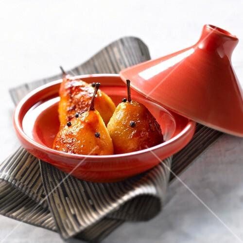 Pear and sechuan pepper Tajine