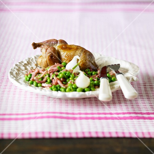 Pigeon with peas