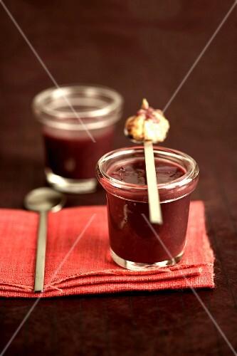 Burgundy soup