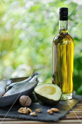 Products with omega 3 and omega 9 benefits