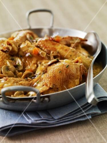 Vallée d'Auge chicken