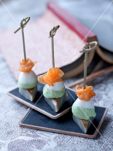 Bite-size appetizers