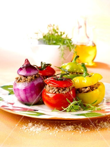 Stuffed vegetables from Nice