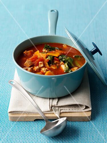 Tofu and vegetable stew