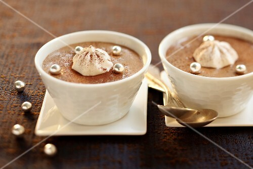 Chocolate-toffee mousse