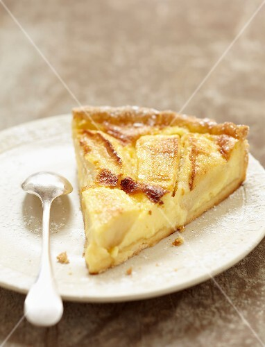 Portion of Alsation tart