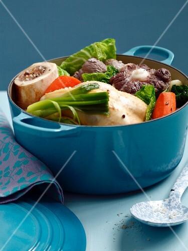 Three meat stew