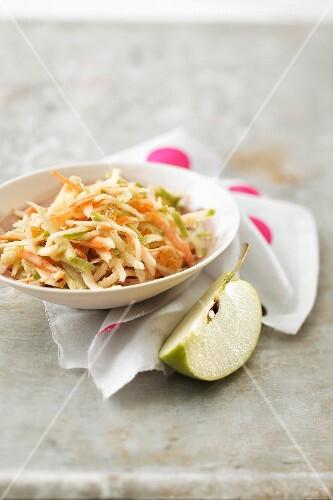 Carot, green apple and celeriac remoulade