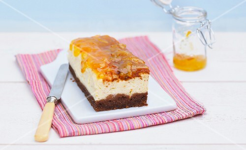 Cheesecake terrine