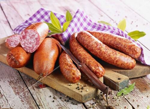 Morteau and Montbéliard sausages
