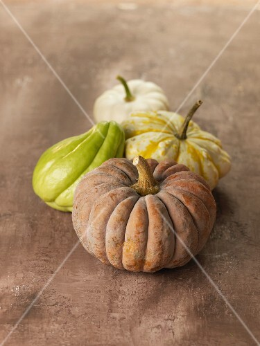 Chayote and gourds