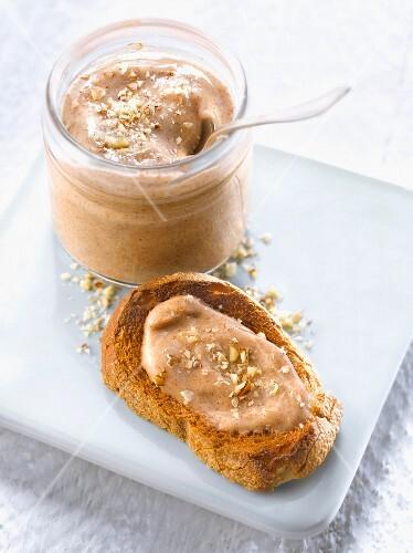 Hazelnut,Speculos,cinnamon milk jam