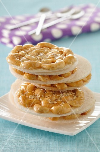 Asian cashew cookies