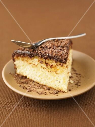 Chocolate and rum cake