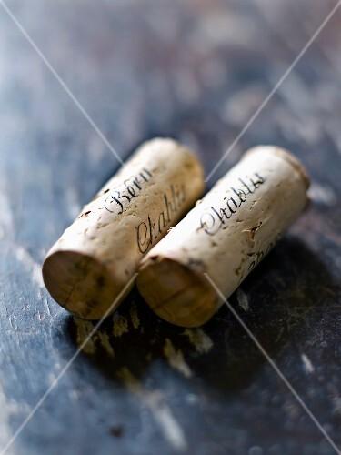 Chablis corks