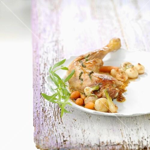 Chicken with tarragon