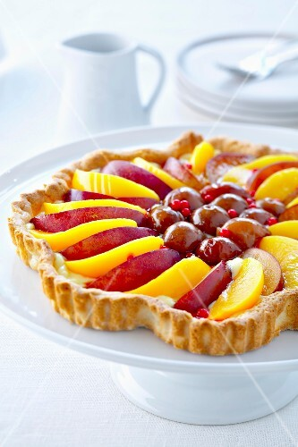 Tutti-frutti tart