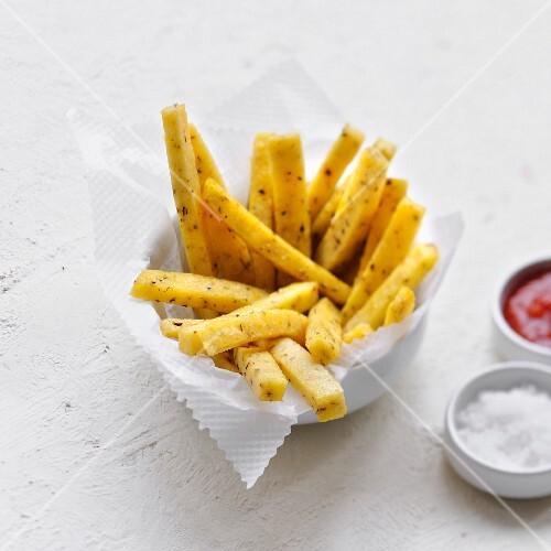 Polenta french fries