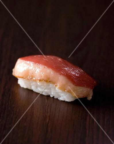 Duck magret sushi