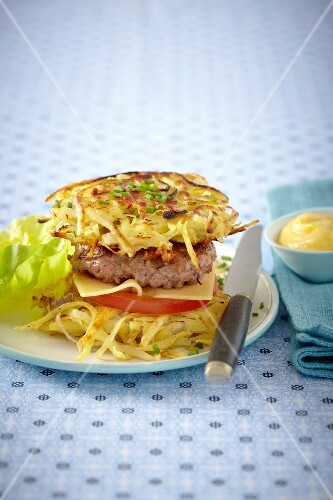 Rösti hamburger