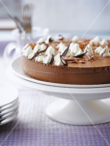 Moussy chocolate cake