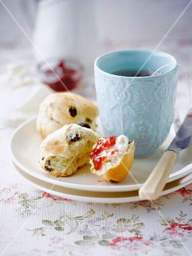 Scones and a cup of tea