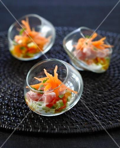 Tahitian tuna salad