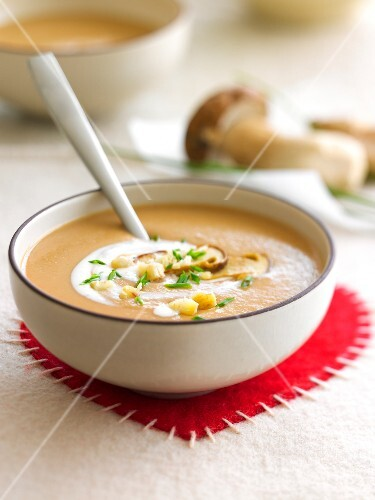 Cream of chestnut soup