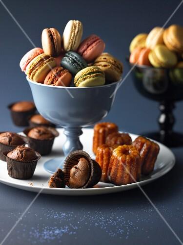 Assortment of sweet delicacies