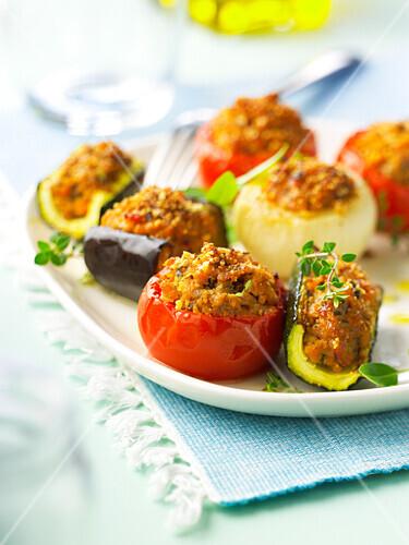 Small stuffed vegetables