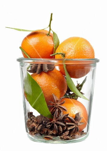 Clementines and star anise
