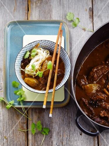 Vietnamese pork's cheeks