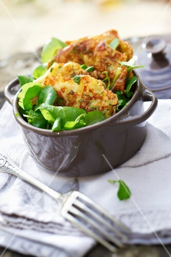 Cancoillotte and watercress Criques