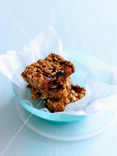Chunky cereal bars