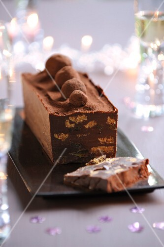 Chocolate, Spéculos and confit terrine