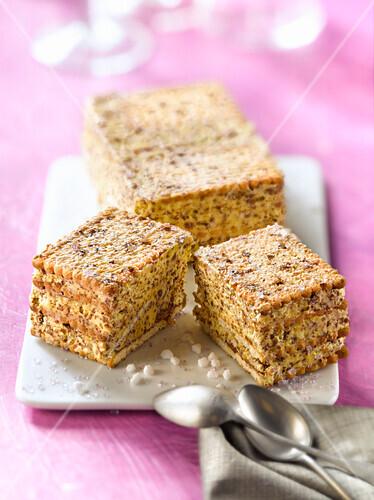 Côte d'Or biscuit Moka cake