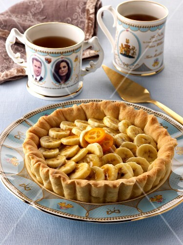Tea time mit Bananentarte
