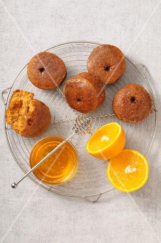 Honey and orange marmelade Nonnettes