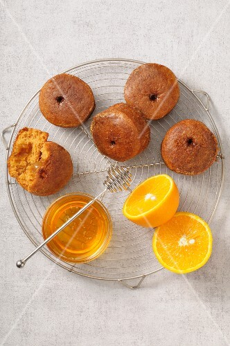 Honey and orange marmelade Nonnettes
